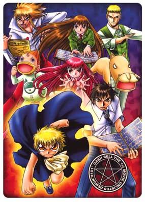 Anime Poster  Konjiki no Gash Bell - Completo DVDRip H.264 Legendado