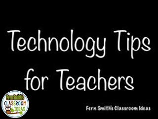 Fern Smith's Classroom Ideas Technology Tips  for Teachers Pinterest Board