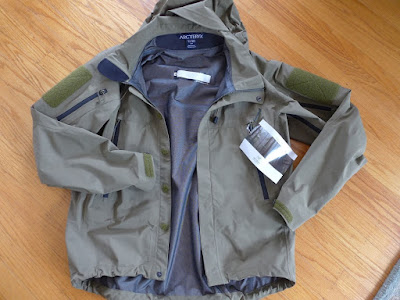 ARC'TERYX LEAF ALPHA JACKET (GEN 1) - CROCODILE