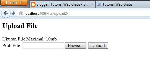 upload pdf file in php