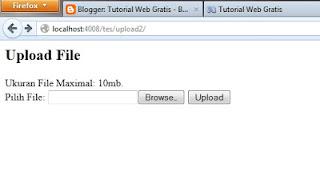 Cara Membuat File Upload sendiri dengan HTML