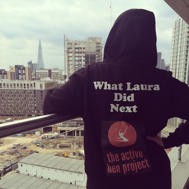 The Active Hen Project by What Laura did Next