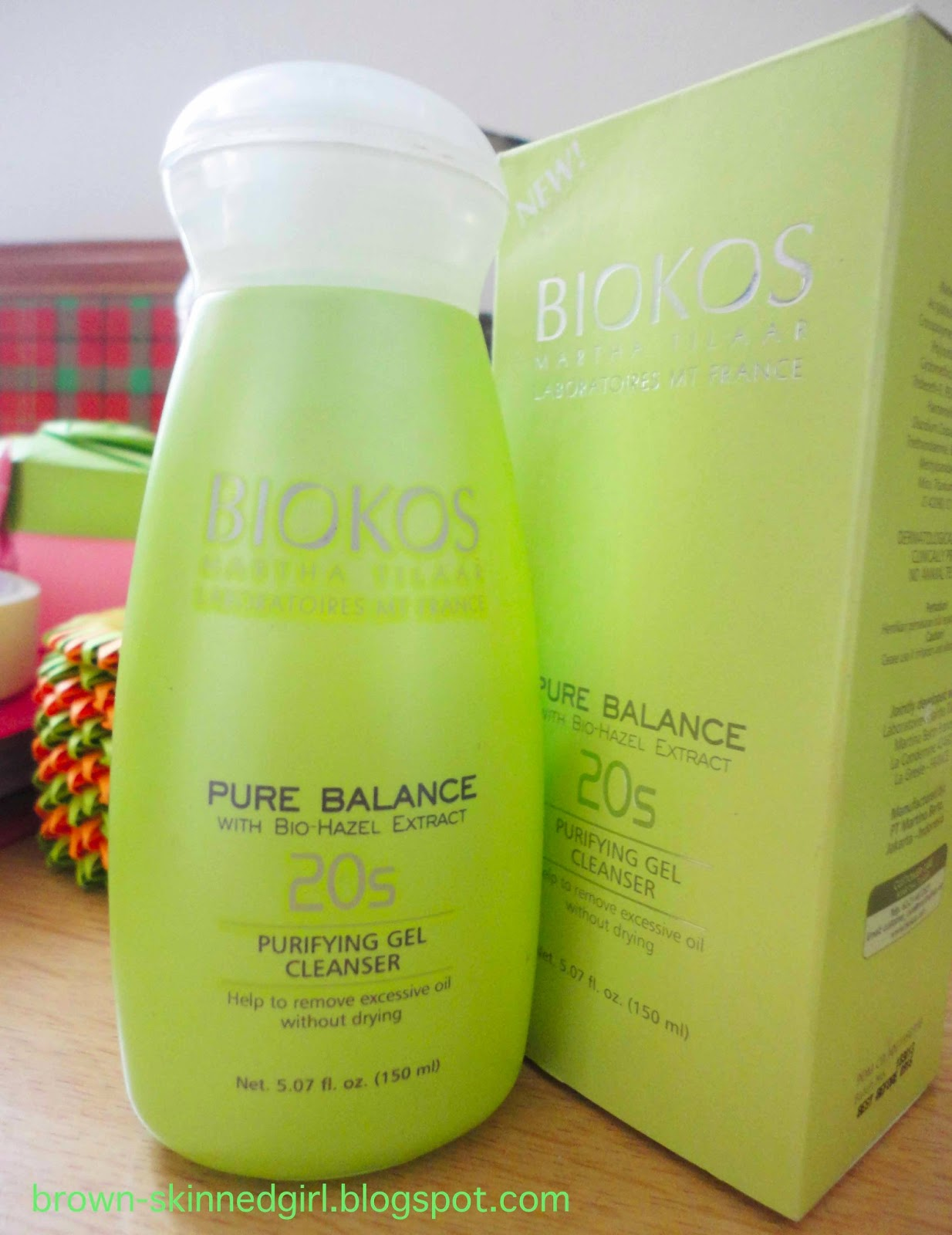product review biokos pure balance purifying gel cleanser
