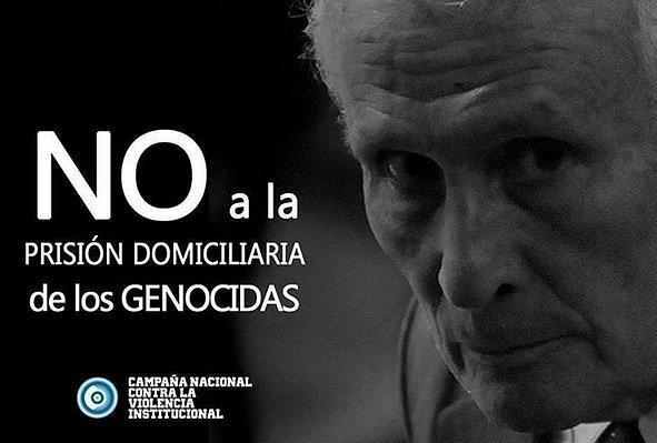 CÁRCEL COMÚN A LOS GENOCIDAS