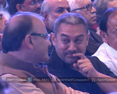 The controversial statements made by Aamir Khan was witnessed by five Union Ministers - Venkaiah Naidu, Najma Heptulla, Ravi Shankar Prasad, Rajiv Pratap Rudy and Arun Jaitley.  The ministers had been invited to the Ramnath Goenka Excellence in Journalism Awards event on Monday in New Delhi, where Finance minister Jaitley had come as the chief guest.