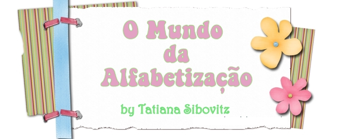 O Mundo da Alfabetizao