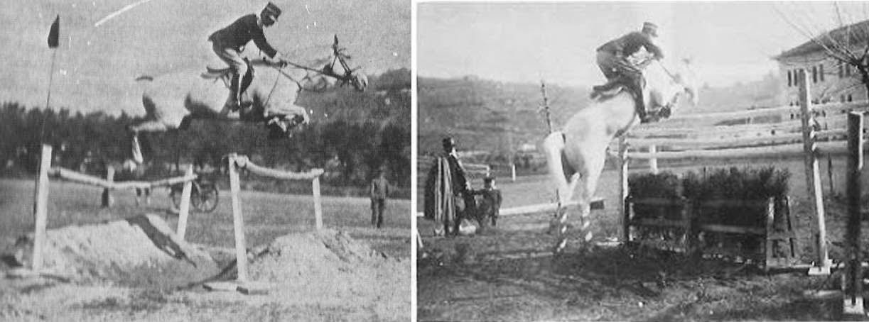 Caprilli also wanted to train a horse that could think for itself, without needing the rider's guidance.