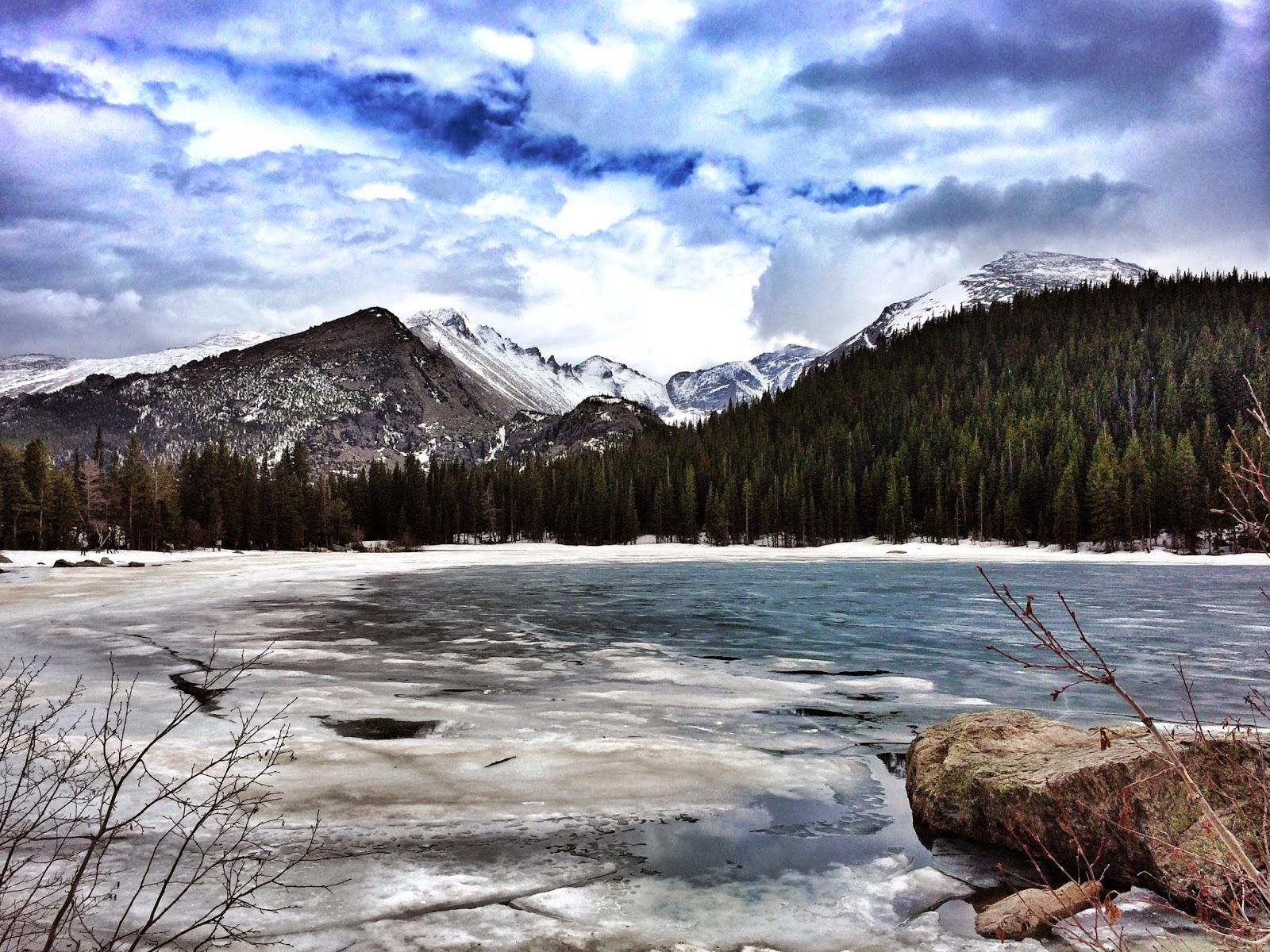 Bear Lake Colorado in Estes Park by Jessica Mack aka SweetDivergence