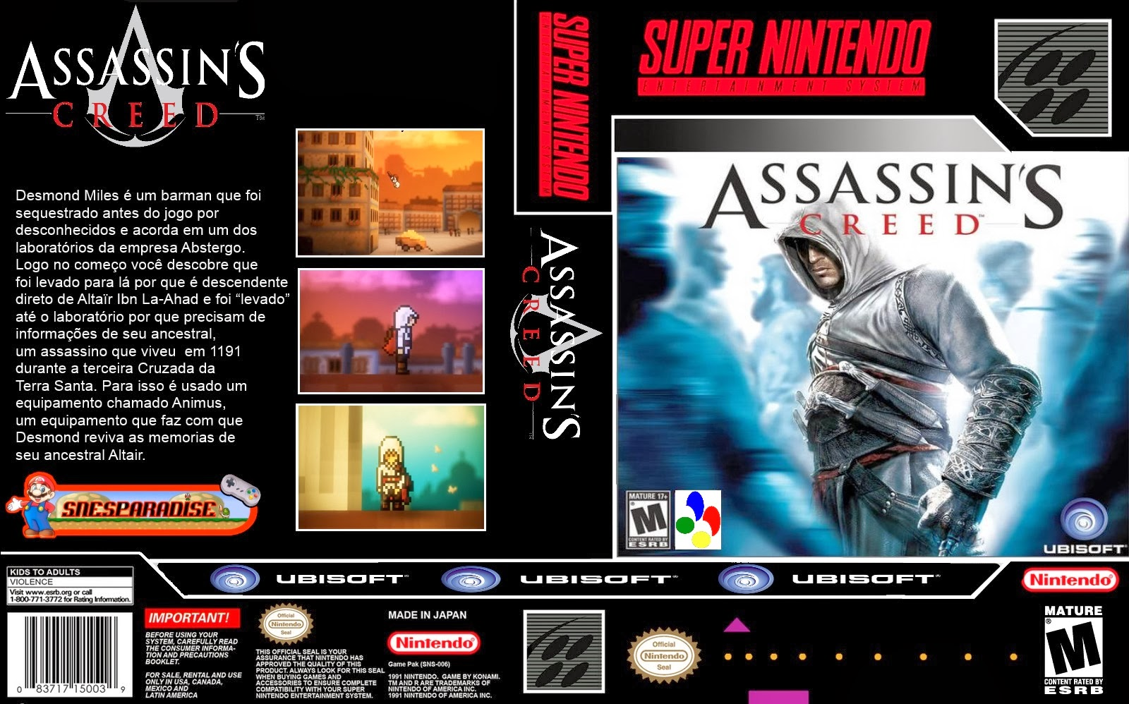 Assasins Creed Super Nintendo