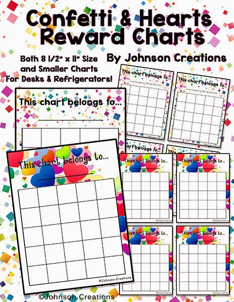 http://www.teacherspayteachers.com/Product/Confetti-Hearts-Reward-Charts-1103043