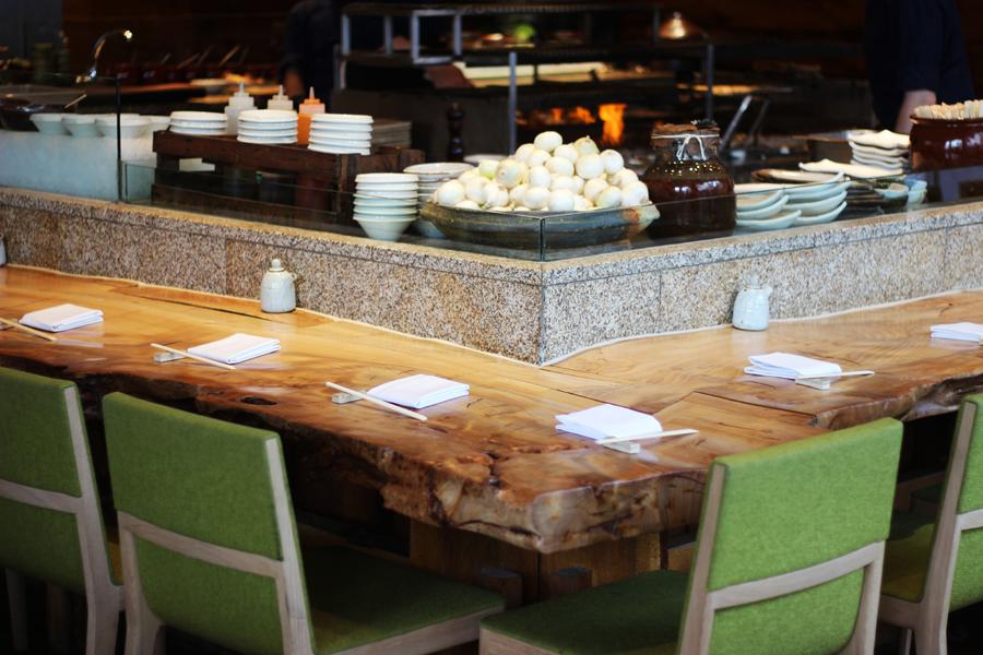 Sashimi and sushi dinenr at Roka, Charlotte Street, London