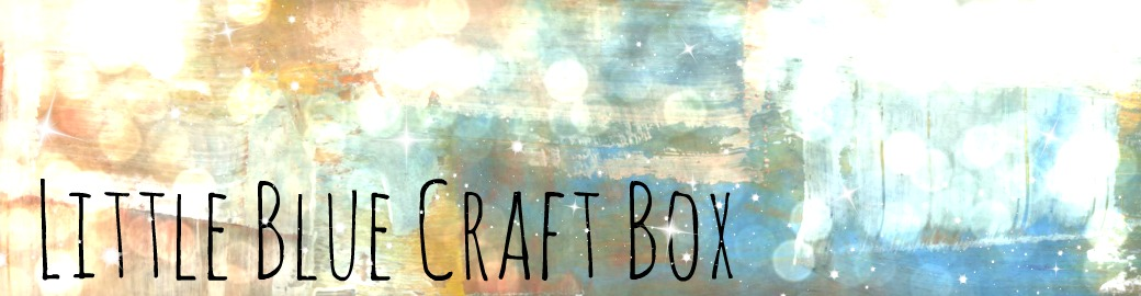 Little Blue Craft Box