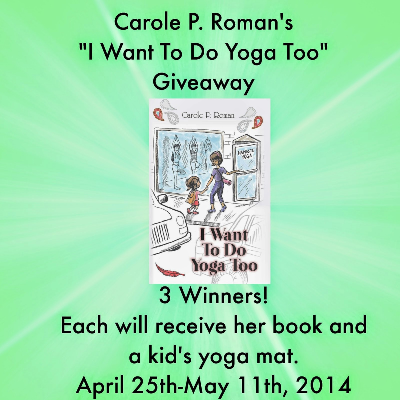 Yoga Book + Mat Giveaway