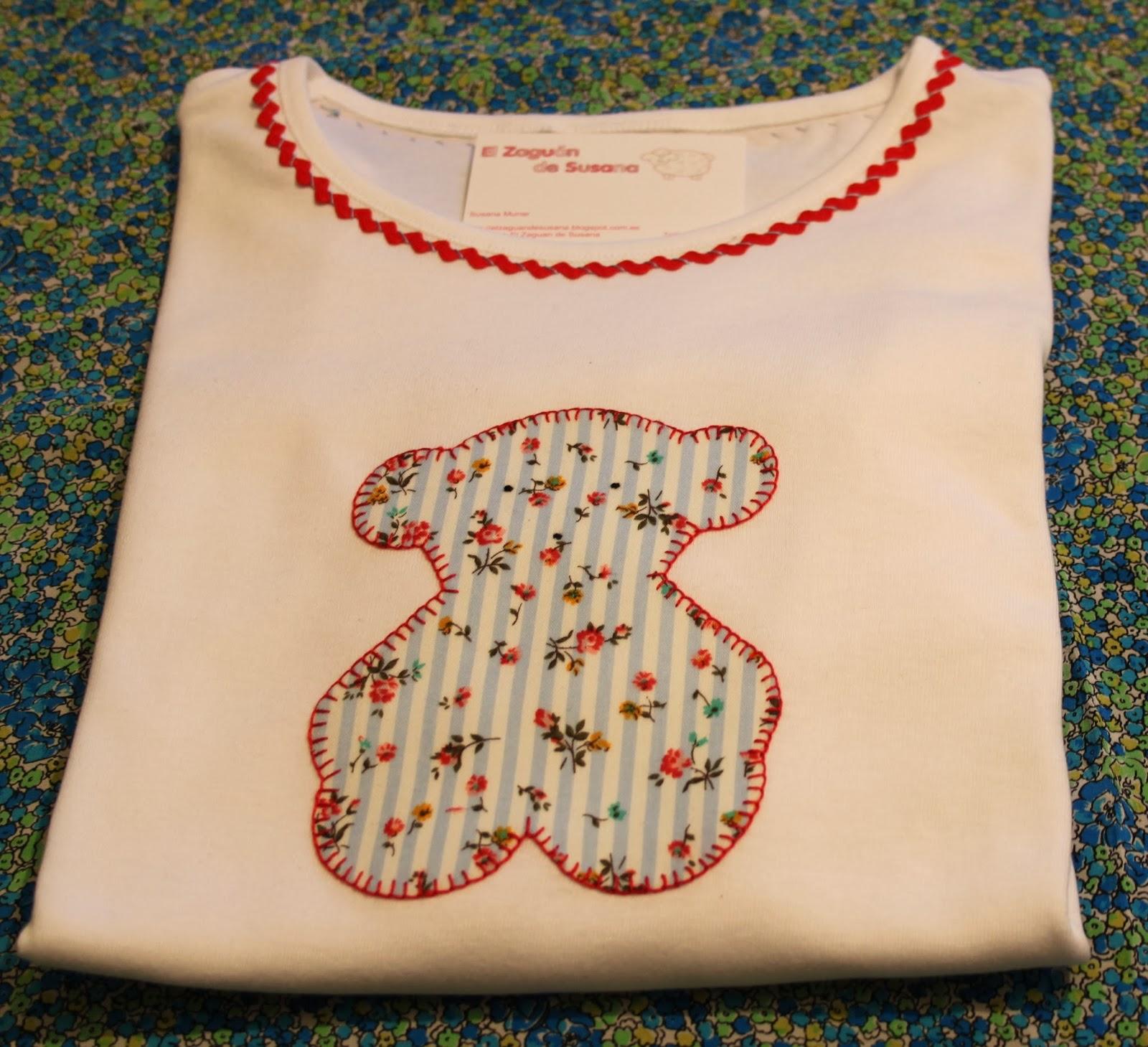 El zaguan de susana nuevas camisetas con aplicaciones for Fotos de patchwork