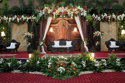 dekorasi pernikahan terbaru