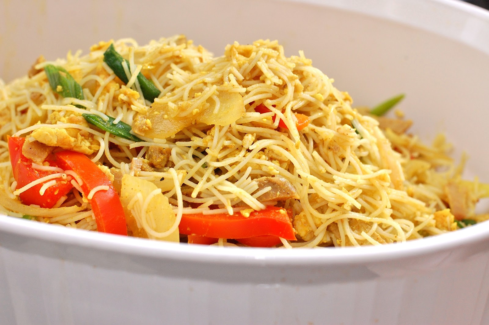 Singapore Fried Rice Noodles Recipe Recipe — Dishmaps