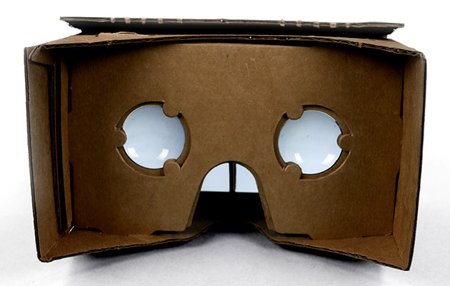 Gafas de Realidad Virtual de Google.