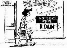 Hoe kwam Riddlin Kids aan hun bandnaam - Ritalin cartoon