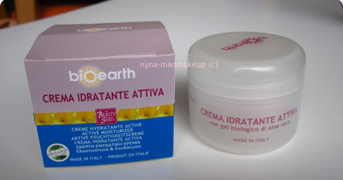 Bagnoschiuma Neutrogena : Mad makeup!: review: bioearth crema idratante attiva
