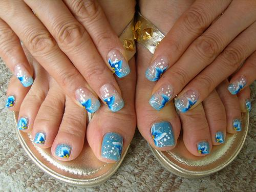 Nail art nail art designs picture short nail designs prinsesfo Images