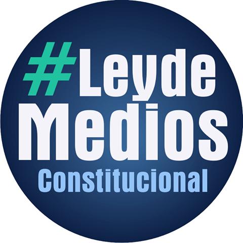 #LEYDEMEDIOSCONSTITUCIONAL