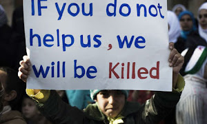 . : west societies have The Supreme Duty to help an helpless people who is being slaughtered : .