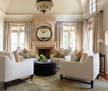 Julie charbonneau 39 s designs interior heaven - 4 chairs in living room instead of sofa ...