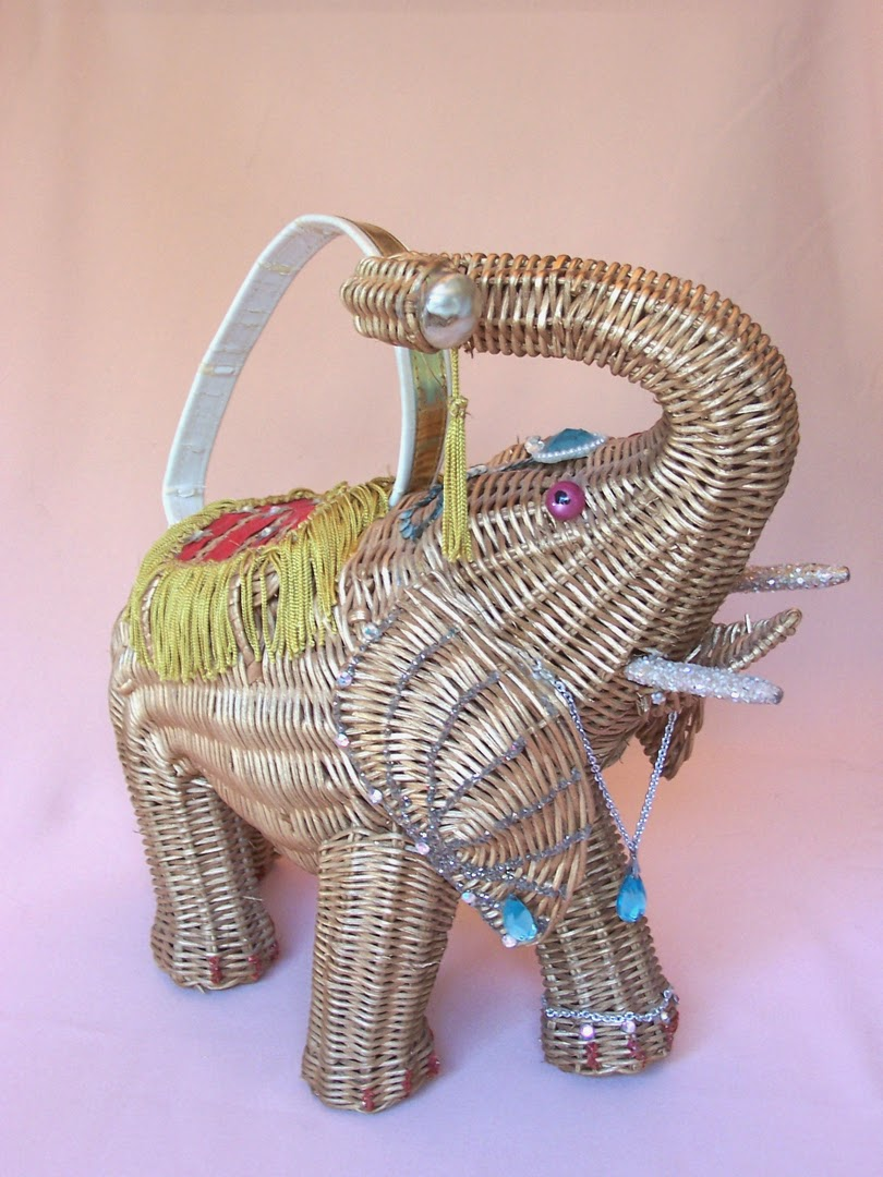 Vintage Purse Gallery Elephant Bag - Hello, Handbag