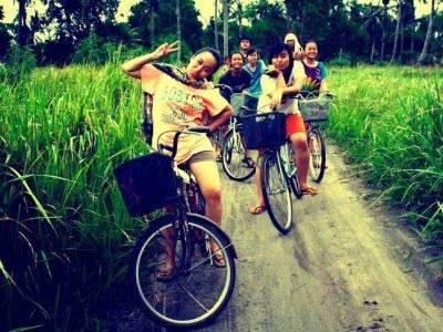 sepeda liburan ke pulau tidung