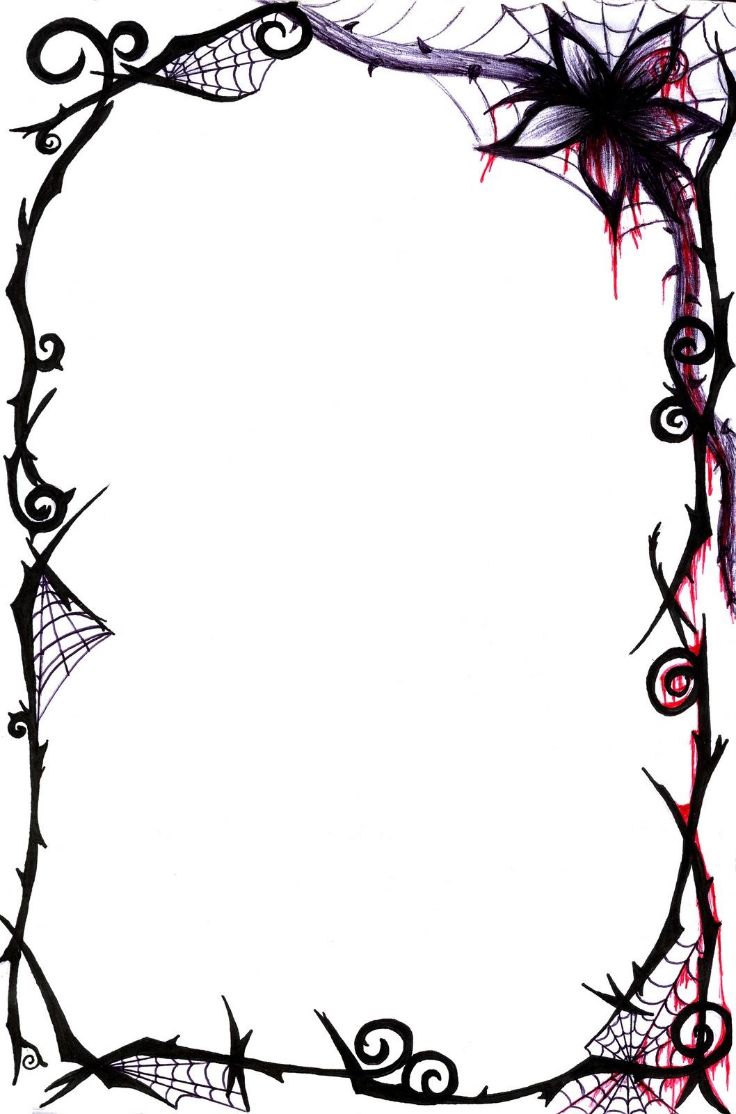 Black Elegant Borders Gallery for page border design