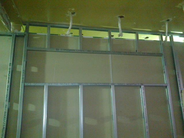 Habitania construcciones y reformas tabique cart n yeso - Instalacion de pladur en paredes ...