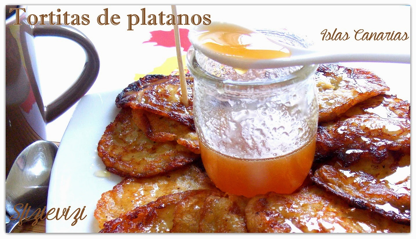 tortitas de platanos - islas canarias per