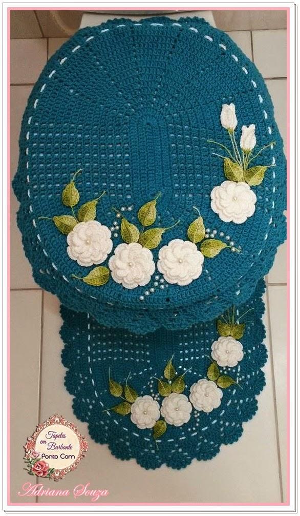 Set De Baño En Crochet:de baño en crochet -cute 🙂 by gloria