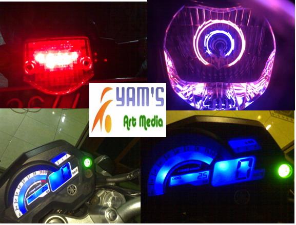 AE + Stop Lamp Yamaha Bison