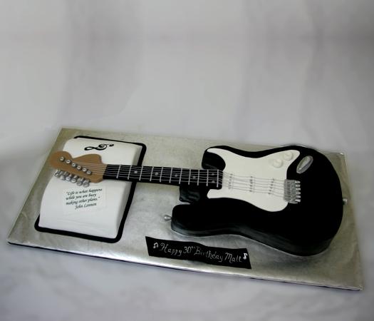 Confectionary Designs: Guitar Cake - NJ Cake Bakery