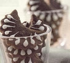 Kue  Coklat Kering Kacang