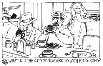 What did the city of New York do with King Kong