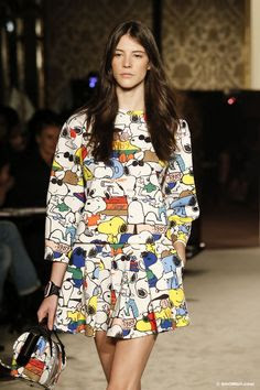 snoopy fay fashion week