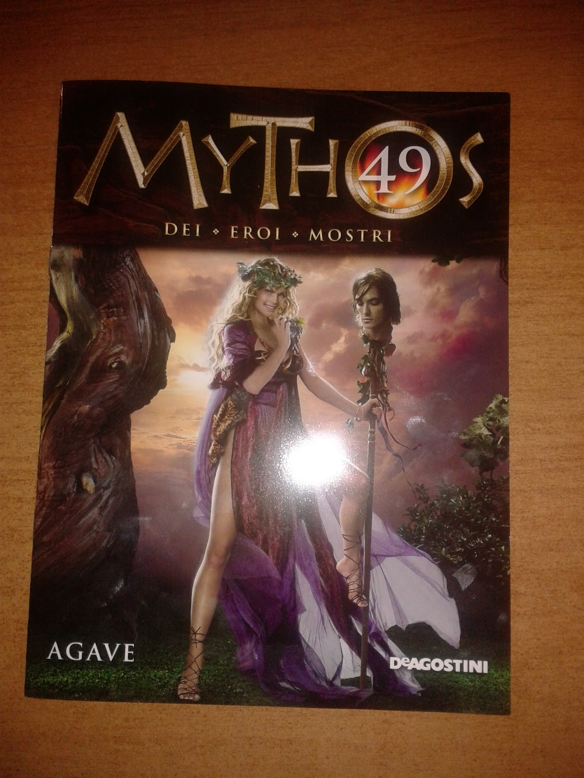 MYTHOS CIRCE Uscita 055  DE AGOSTINI