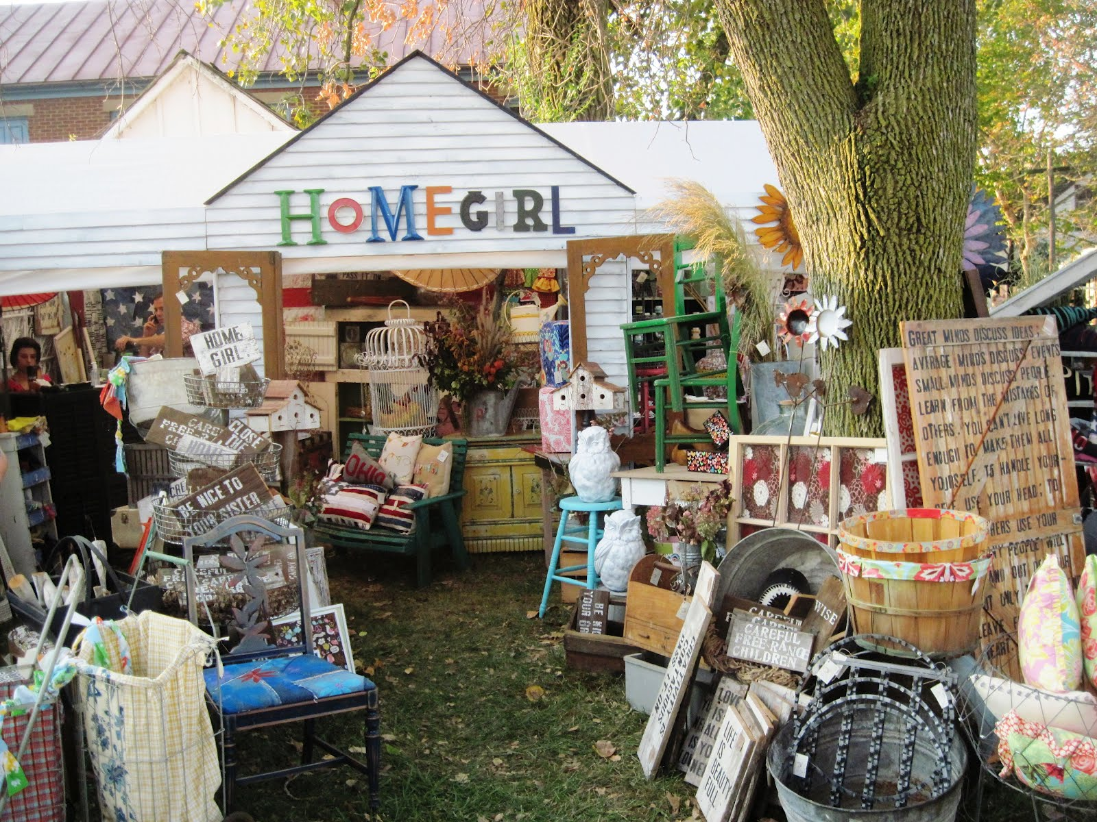 Home girl country living fair 2012 for Craft shows in ohio