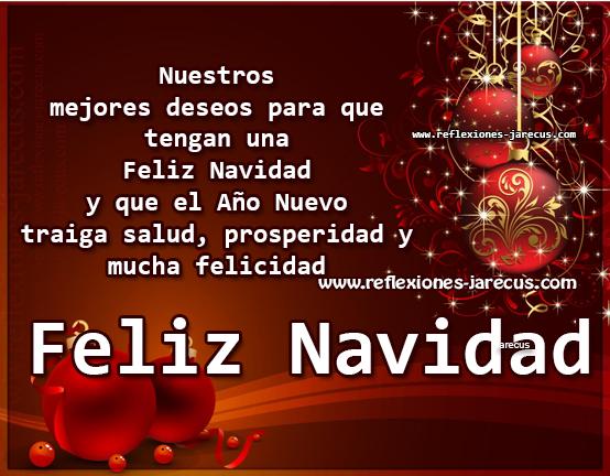 Nuestros mejores deseos para que tengan una feliz navidad - Deseos de feliz navidad ...