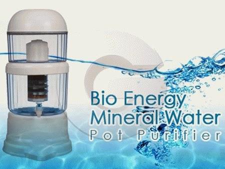 bio energy water, water purifer, alat penyaringan air, pure it,