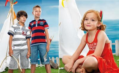 ROPA INFANTIL LOSAN COLECCIONES 2012-2013
