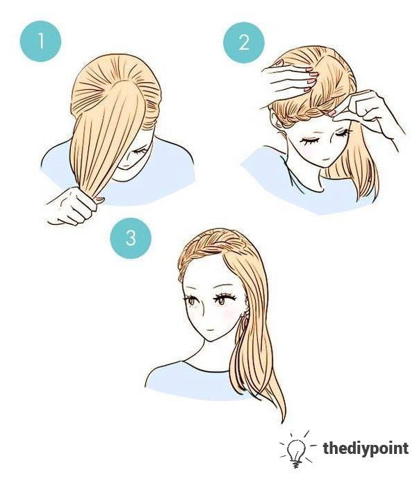 Hair Styles Tutorials Easy and Simple.