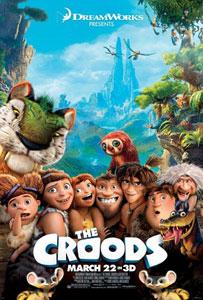 Poster original de Los Croods