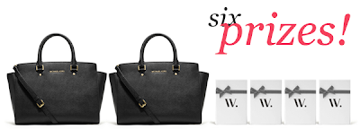 Enter to win one of six prizes including two Michael Kors handbags. Ends 7/19 at 12 noon.