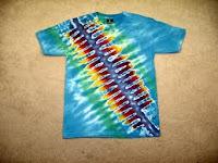Batik jumputan untuk baju berbahan kaos