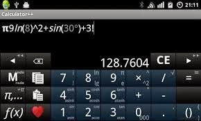 tampilan calculator++