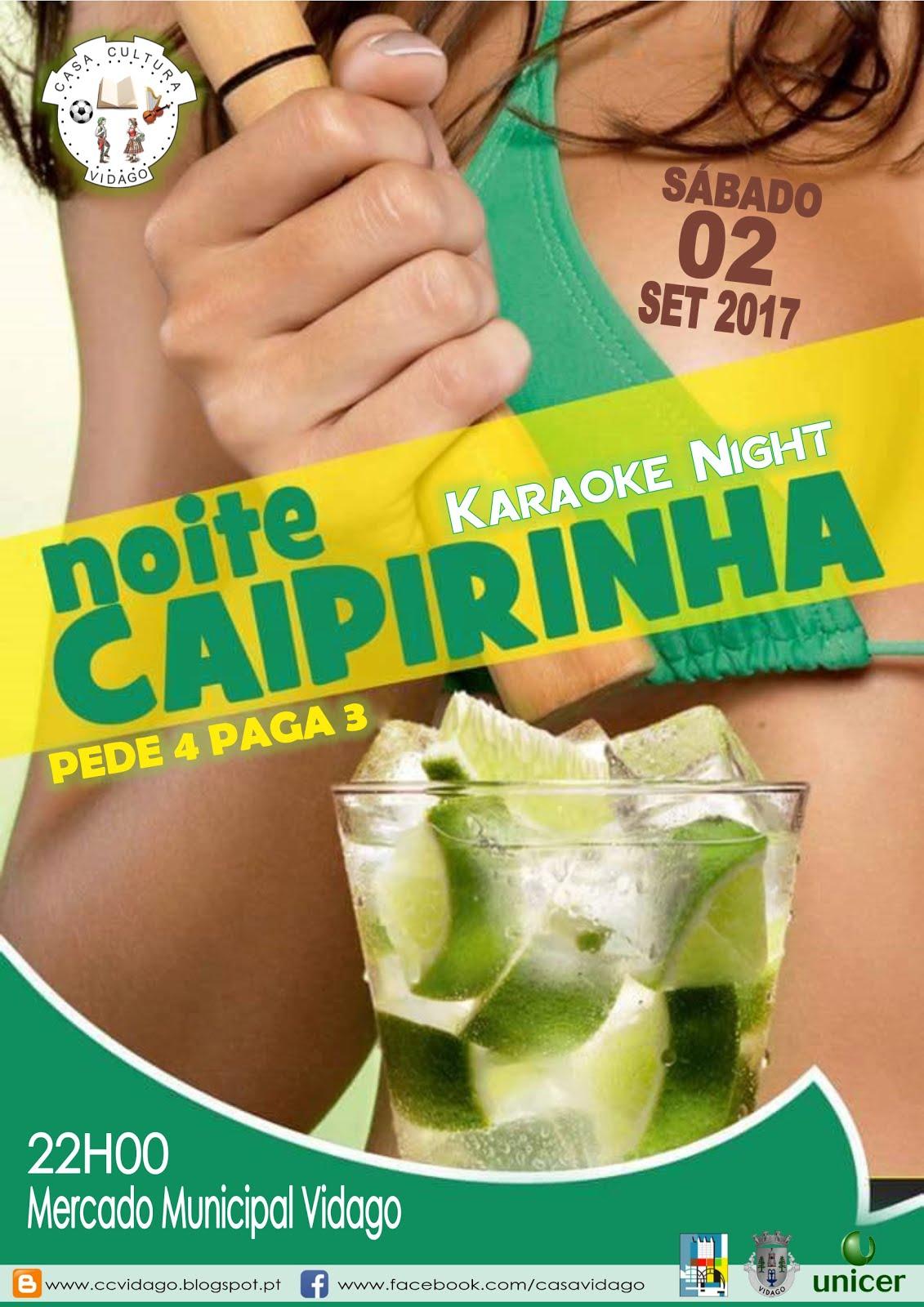 NOITE DA CAIPIRINHA