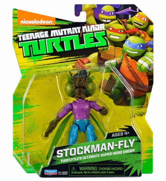 JUGUETES - Las Tortugas Ninja   Baxter Stockman Fly | Mosca | Figura - Muñeco  Teenage Mutant Ninja Turtles  Producto Oficial Serie Televisión 2015 | A partir de 4 años
